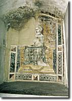 Affresco dell'oratorio di San Genesio
